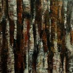 """Rundweg"", Acryl auf Bw, 80 cm x 80 cm, 2012"