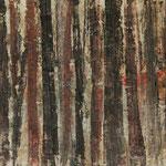 """""""Waldsichten 2"""", Acryl auf MDF, 30 cm x 60 cm, 2008"""