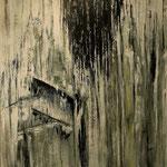 """Kambium 1"", Acryl auf Bw, 120 cm x 100 cm, 2012"