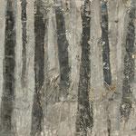 """""""Nebelgrau 5"""", Acryl auf MDF, 30 cm x 60 cm, 2008"""
