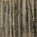 """""""Waldsichten 9"""", Acryl auf MDF, 30 cm x 60 cm, 2008"""