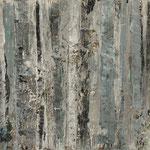 """""""Nebelgrau 3"""", Acryl auf MDF, 30 cm x 60 cm, 2008"""