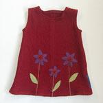 Kleid aus Walkloden 74