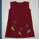 Kleid aus Walkloden 92