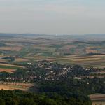 Aussicht Niederleis bis Wien