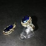 Ring in Gold zum Anhänger angefertigt