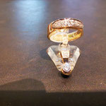 Ring in Gold aus Kundenmaterial