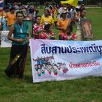 Gruppen aus den umliegenden Gemeinden