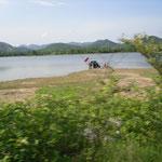 Autowaschen im Seee und as im Trinwasserreservoir