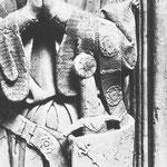 Oakeshott XIV: Epitaph Arnold von Kleves, Kleve (ca. 1330) [Foto von Graham Field www.themcs.org ]