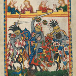Mehrere Oakeshott XIV: Manesse-Handschrift, fol. 17r