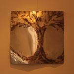 Albero della vita III, 2014, acciaio, 50 x 50 cm