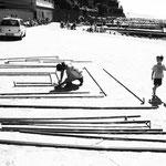 Montaggio dell'installazioe Ricerca del sè