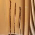 Bastoni da viaggio, 2012 - 2014, legno, misure variabili