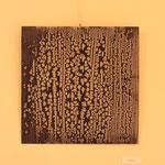 Senza titolo, 2014, ferro, 50 x 50 cm