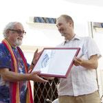 Alex riceve il Premio Trabucchi alla Passione Civile 2013