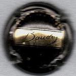 BAUDRY   N° 2   noir et or vif