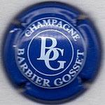 BARBIER GOSSET   N° 5   bleu et blanc