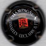 ASSAILLY-LECLAIRE   N°7  noir, or-jaune et rouge