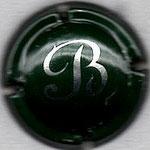 BARANCOURT   N° 16   vert foncé, B blanc