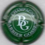 BARBIER GOSSET   N° 4   vert et blanc