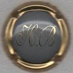 BILLIOT  H.   N° 2   gris, contour or