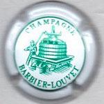 BARBIER LOUVET   N° 2   blanc et vert