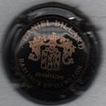 BILLARD  Daniel    N° 1   noir et or