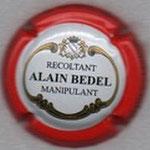 BEDEL Alain (manipulant)    N° 13b   contour rouge