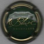 H. BLIN & C.   N° 5   vert et or, striée
