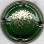 BEAUFORT Claude   N° 9   vert et or