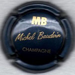 BAUDVIN Michel   N° 1   bleu métal et or