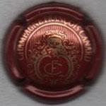 CANARD - FRANCOIS   N° 1   Bordeaux et or   N°