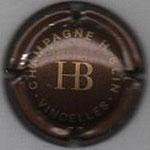 H.  BLIN   N° 11   marron et or