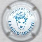 ARLETTE (La Fée)   N° 6   blanc et bleu