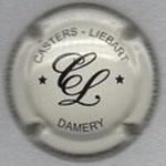 CASTERS - LIEBART   NR   crème et noir