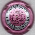 BARFONTARC  (de)   N° 3   contour rose foncé