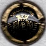 AUTREAU-LASNOT   N° 7   noir et or, striée