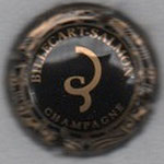 BILLECART-SALMON    N° 57    noir et or