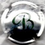 BARANCOURT   N° 8   métal, B vert