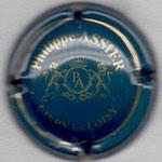 ASSIER Philippe   N° 1  bleu et or