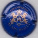 BAILLY Alain   N° 6   bleu et or