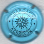 ARISTON   N° 11   bleu pâle et noir