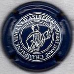 ASTREE  (Vincent d')   N° 5   bleu foncé, inscription blanche