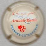 ARNOULT  RUELLE       crème, orange et bleu + coccinelle