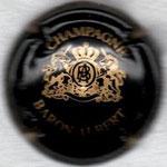 BARON Albert    N° 24a   noir et or-jaune avec inscription