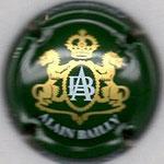 BAILLY Alain   N° 19   vert et or brillant