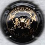 BATTILOT Louis   N° 3   noir et or