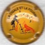 BARON Albert   N° 11   jaune : la cigale et la fourmi
