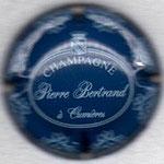 BERTRAND Pierre   N° 9   bleu, écriture blanche